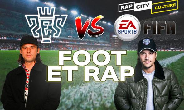 foot et rap dans les jeux videos