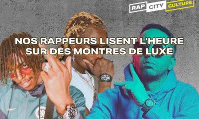 Les montres de luxe dans le rap français